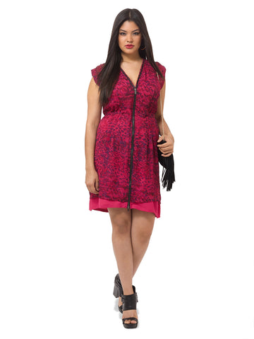 Mallala Dress In Red Mix