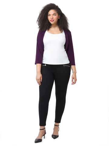 Sydney Shrug In Plum