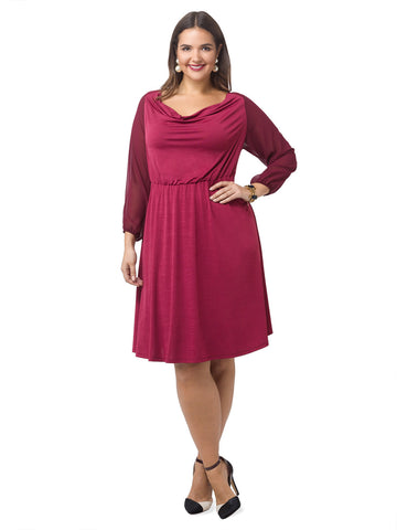 Soleil Dress In Mulberry
