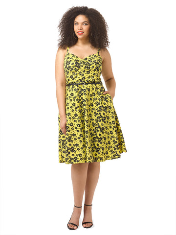 Sunshine Floral Dress