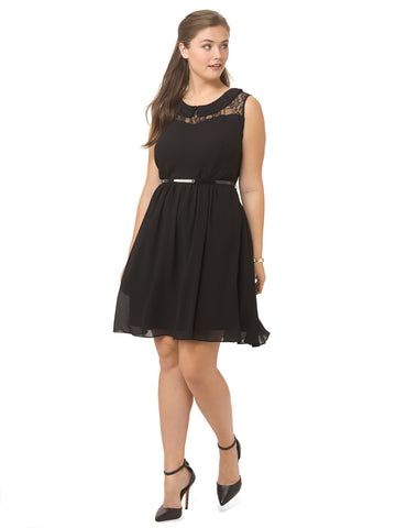 Lacey Collar Dress