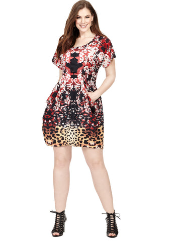 Jungle Crawl Tunic Dress