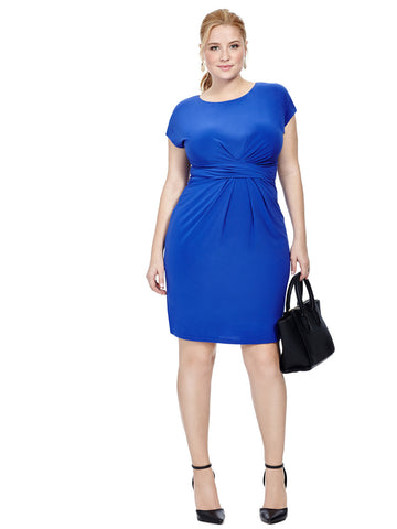 Royal Ruched Waist Dress