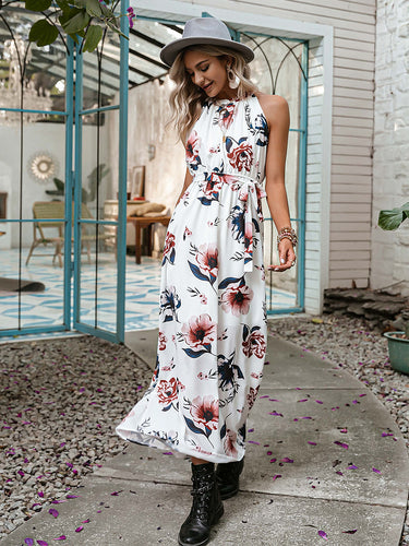 Unforgettable Moments Floral Print Maxi Dress