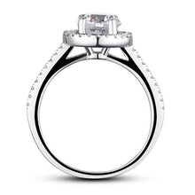 Load image into Gallery viewer, Rebel. 1.25 Carat Round Cut Created Diamond 925 Sterling Silver Wedding Engagement Ring XFR8003