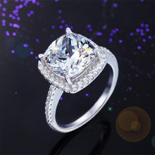 Load image into Gallery viewer, Rebel. 925 Sterling Silver Wedding Engagement Ring 5 Carat Created Diamond XFR8204