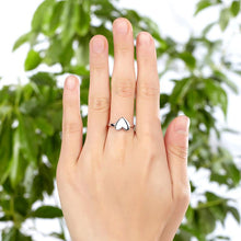 Load image into Gallery viewer, Plain Solid 925 Sterling Silver Ring Heart Fashion Trendy Stylish XFR8288