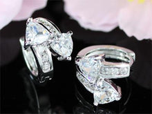 Load image into Gallery viewer, 1.5 Carat Cubic Zirconia Bling Huggie Earrings XE257