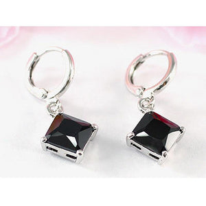 2 Carat Black Onyx Dangling Earrings XE301