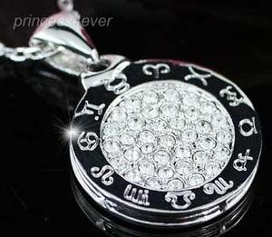 Horoscope Pendant Necklace use Swarovski Crystal XN269
