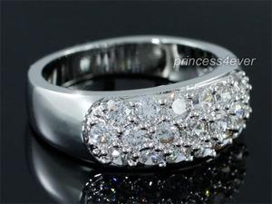 Sparkling CZ Simulated Diamond Ring - XR192