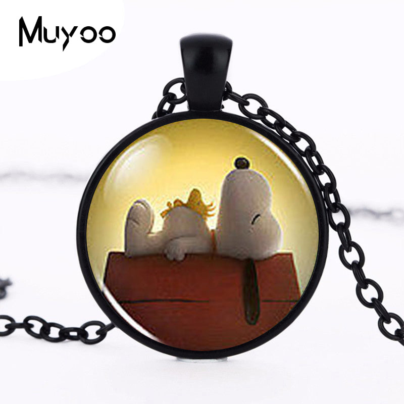 Necklace White Dog