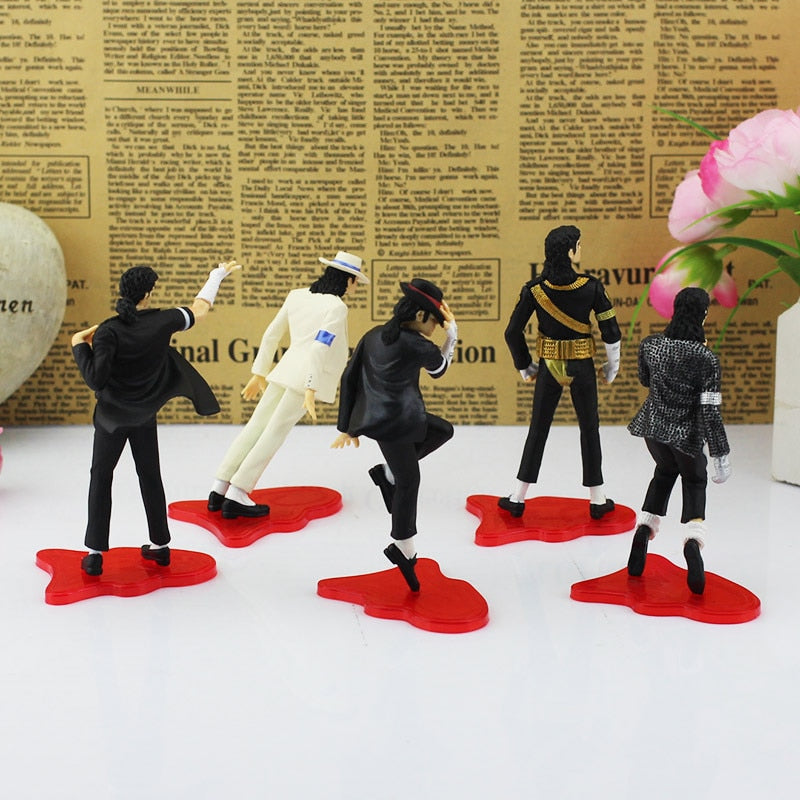 5PC/ Set MICHAEL JACKSON Dance Dolls