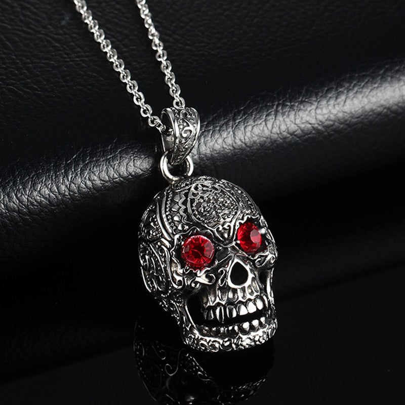 Men's Vintage Skull Necklace