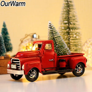 Christmas Little Red Truck