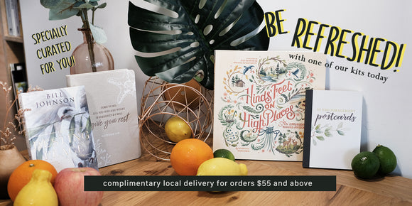 Explore our new curation featuring evergreen classics, workplace ministry, the prophetic that come bundled with beautiful journals or thoughtful gifts for the home.