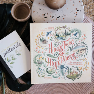 Hinds' Feet Visual Journey with encouragement postcards
