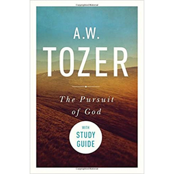 The Pursuit Of God w/Study Guide