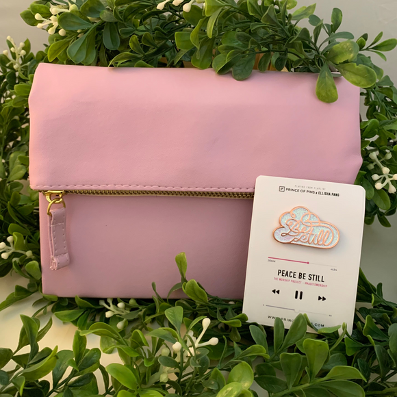 PEACE BE STILL - PINK PURSEBOOK