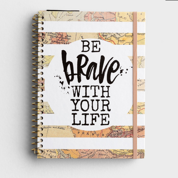 2021 Weekly Monthly Planner - Be Brave With Your Life (#J2021)