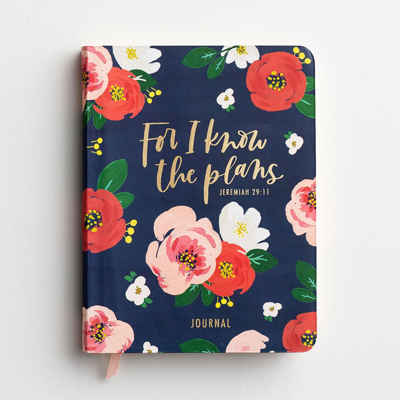 For I Know The Plans/Floral Journal -#94312