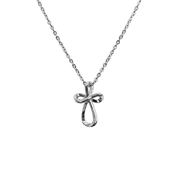 Cross Necklace - Infinity