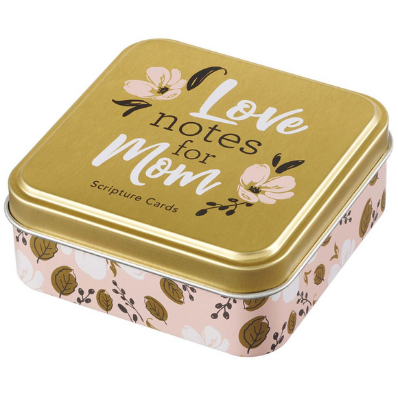 Scripture Cards In A Tin-Love Notes For Mom (TIN027)