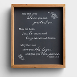 The Lord Bless You - Framed Wall Art (#95111)
