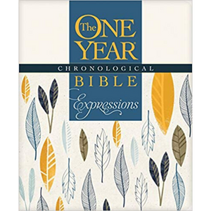 The One Year Chronological Bible Expressions, Cream (Soft Cover)