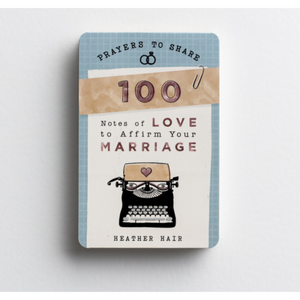 Prayers To Share-100 Notes Of Love To Affirm Your Marriage-#89903
