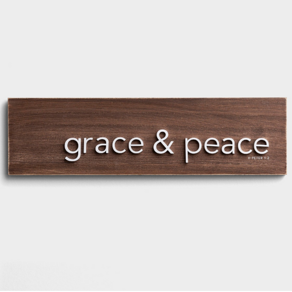 Grace and Peace - Wall Art (#95114)