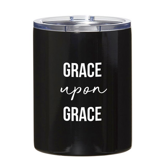 Stainless Steel Tumbler - Grace Upon Grace (#G4179)