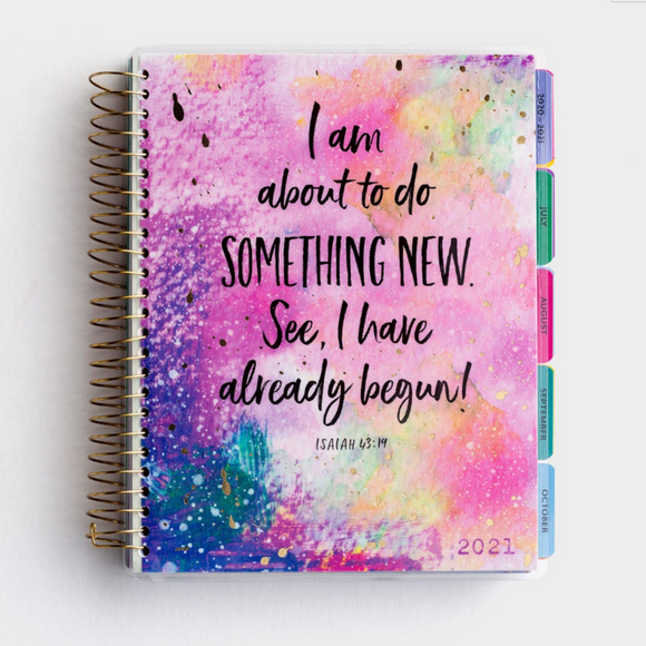 18-Mth Agenda Planner 2021 - Something New (#J1665)