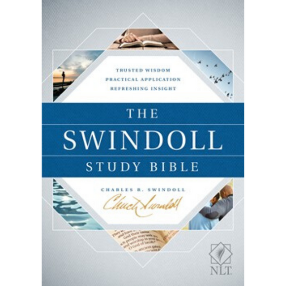 NLT-The Swindoll Study Bible (HC)