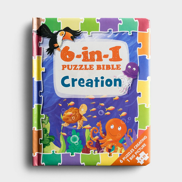 Creation-6-in-1 Puzzle Bible/#15480