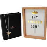 KING OF KINGS CROSS  PENDANT NECKLACE