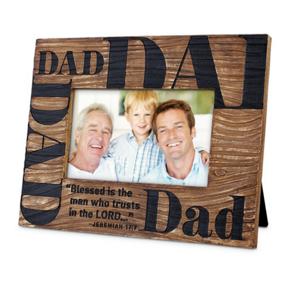 Photo Frame-Blessed Dad#17123