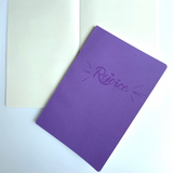 Soft Cover Notebook - Rejoice / Blank (Purple)