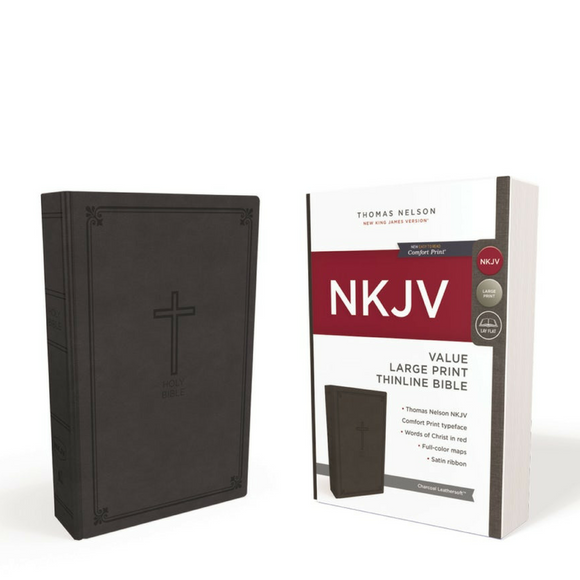 NKJV-Value Large Print Thinline-Comfort Print