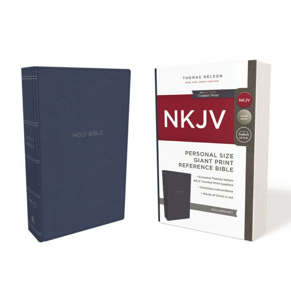 NKJV-Personal Size Giant Print Reference-Comfort Print