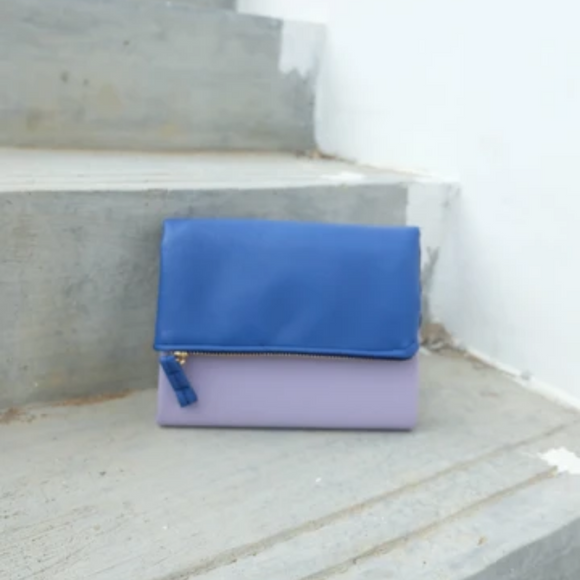 PURSEBOOK - LILAC ROYAL BLUE