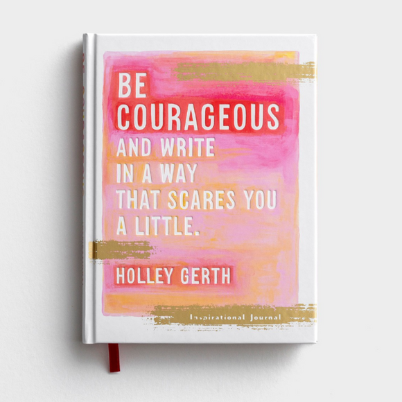 Inspirational Journal - Be courageous (#J2032)