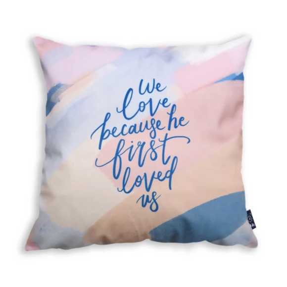 We Love  - Cushion Cover