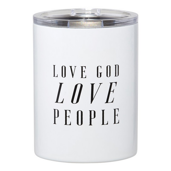 Stainless Steel Tumbler - Love God Love People (#G2036)