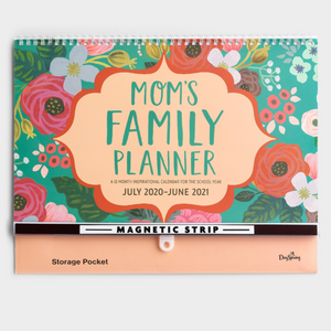 2021 Sch Year Family Planner - Mom/Floral (#J2028)