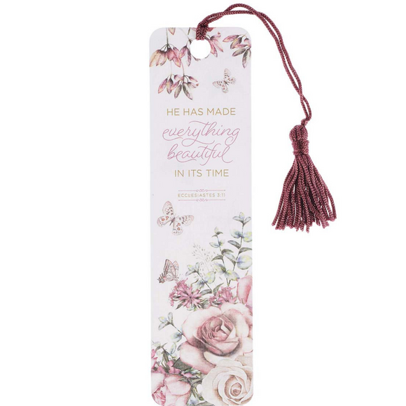 Everything Beautiful - Bookmark with Tassel (TBM116)