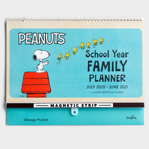 2021 Sch Year Family Planner - Peanuts (#J2027)