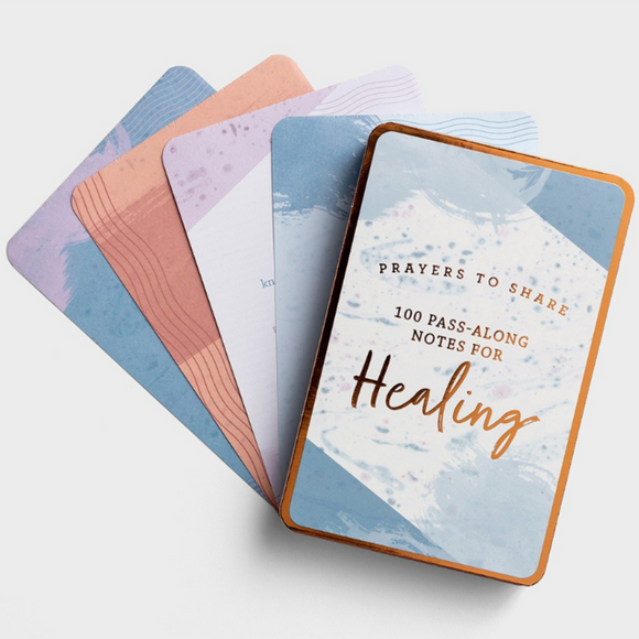 Prayers to Share: 100 Pass-Along Notes For Healing (#J3104)