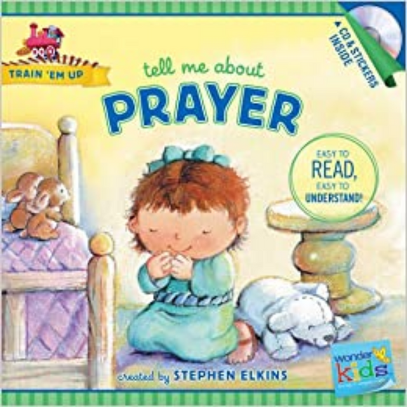Train Em Up-Tell Me About Prayer w/CD+Stickers