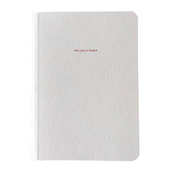 Journal - Not Just A Dream / Dream Journal (White)